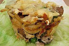 Champignon - Nudel - Muffins