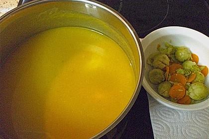 Gemüsecremesuppe 2