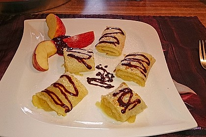 Süße Pfannkuchen 8