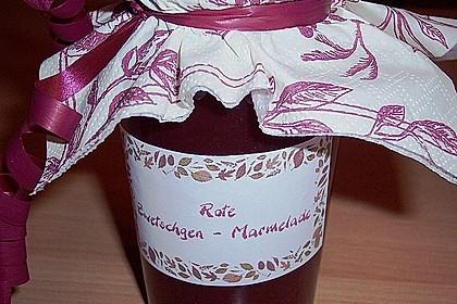 Rote Zwetschgen - Marmelade