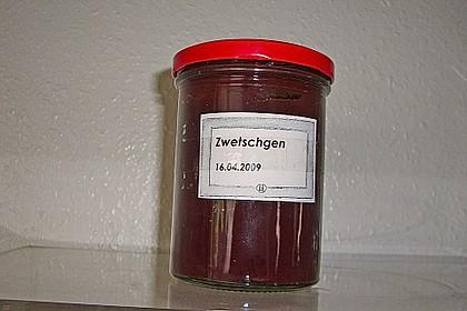 Rote Zwetschgen - Marmelade 7