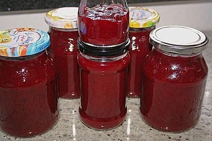 Rote Zwetschgen - Marmelade 3