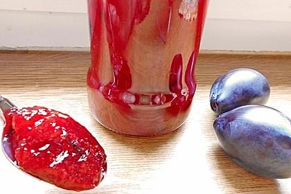 Rote Zwetschgen - Marmelade 2