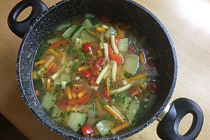 15 Minuten Gemüse-Nudel-Suppe 45