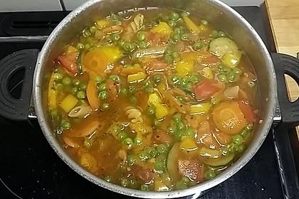 15 Minuten Gemüse-Nudel-Suppe 91
