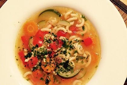 15 Minuten Gemüse-Nudel-Suppe 87