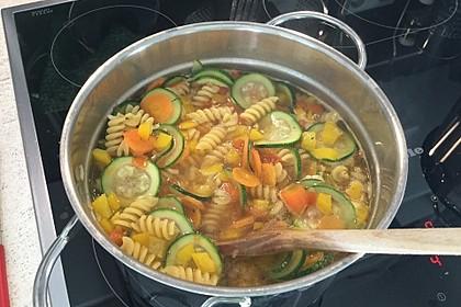 15 Minuten Gemüse-Nudel-Suppe 76