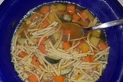 15 Minuten Gemüse-Nudel-Suppe 58