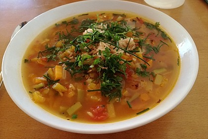 15 Minuten Gemüse-Nudel-Suppe 62