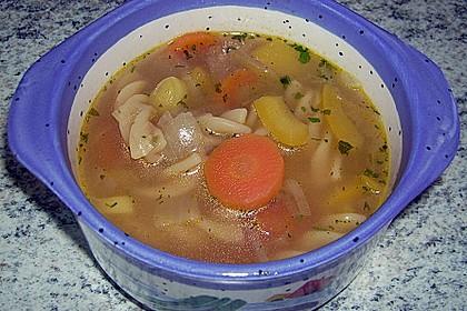 15 Minuten Gemüse-Nudel-Suppe 44