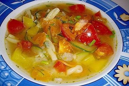15 Minuten Gemüse-Nudel-Suppe 22