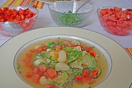 15 Minuten Gemüse-Nudel-Suppe 20