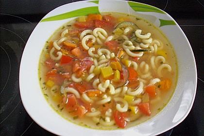 15 Minuten Gemüse-Nudel-Suppe 69