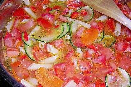 15 Minuten Gemüse-Nudel-Suppe 75