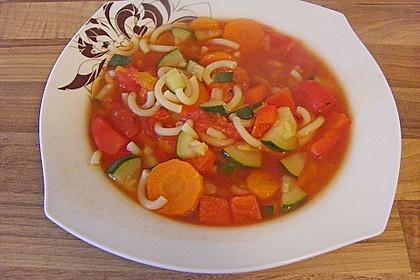 15 Minuten Gemüse-Nudel-Suppe 35