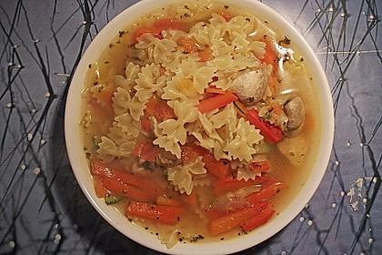 15 Minuten Gemüse-Nudel-Suppe 42