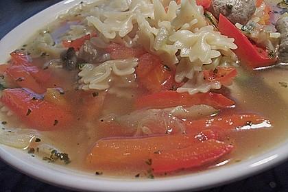 15 Minuten Gemüse-Nudel-Suppe 68