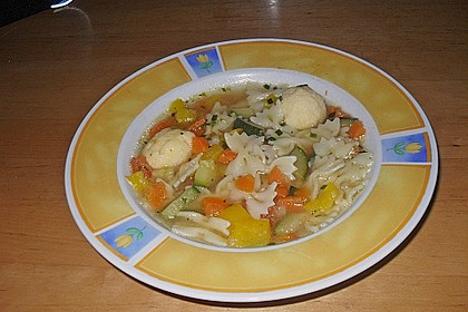 15 Minuten Gemüse-Nudel-Suppe 40