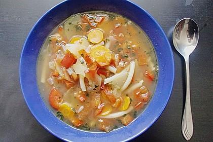 15 Minuten Gemüse-Nudel-Suppe 59