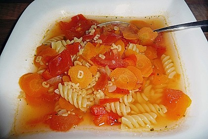 15 Minuten Gemüse-Nudel-Suppe 33