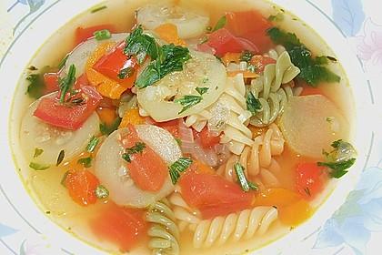 15 Minuten Gemüse-Nudel-Suppe 18