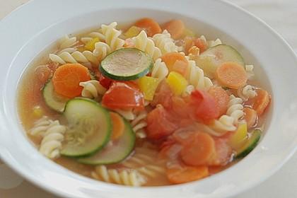 15 Minuten Gemüse-Nudel-Suppe 56