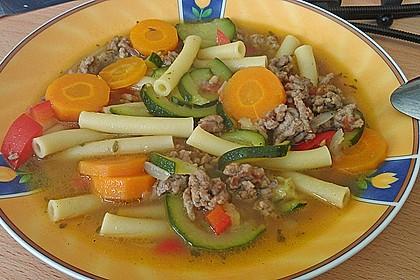 15 Minuten Gemüse-Nudel-Suppe 29
