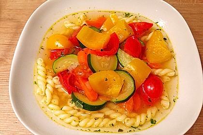 15 Minuten Gemüse-Nudel-Suppe 13
