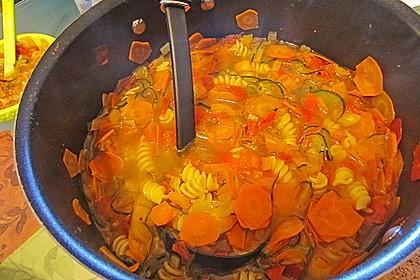 15 Minuten Gemüse-Nudel-Suppe 70