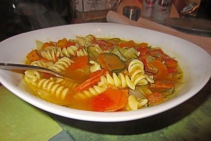 15 Minuten Gemüse-Nudel-Suppe 38