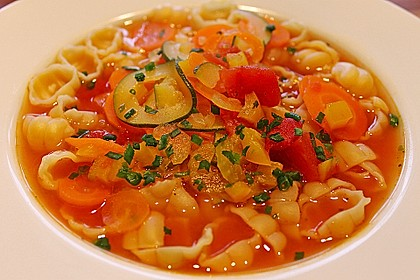 15 Minuten Gemüse-Nudel-Suppe 28