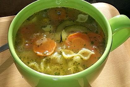 15 Minuten Gemüse-Nudel-Suppe 52