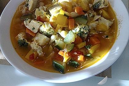 15 Minuten Gemüse-Nudel-Suppe 46