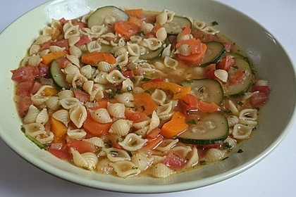 15 Minuten Gemüse-Nudel-Suppe 32