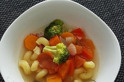 15 Minuten Gemüse-Nudel-Suppe 43