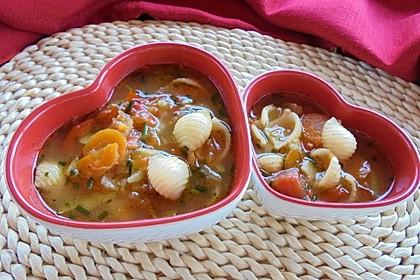 15 Minuten Gemüse-Nudel-Suppe 10