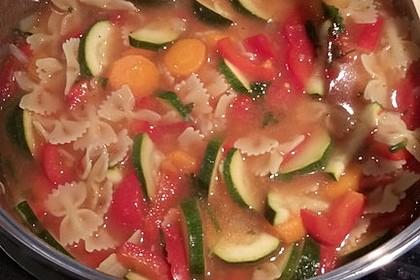 15 Minuten Gemüse-Nudel-Suppe 81