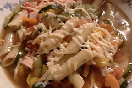 15 Minuten Gemüse-Nudel-Suppe 96