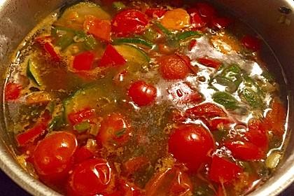 15 Minuten Gemüse-Nudel-Suppe 72