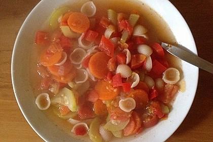 15 Minuten Gemüse-Nudel-Suppe 77