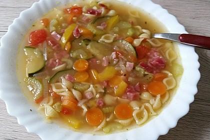 15 Minuten Gemüse-Nudel-Suppe 49