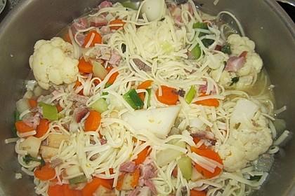 15 Minuten Gemüse-Nudel-Suppe 82
