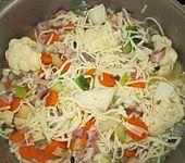15 Minuten Gemüse-Nudel-Suppe (Bild)