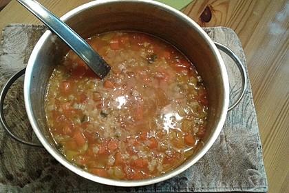 15 Minuten Gemüse-Nudel-Suppe 80