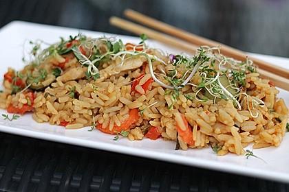Rezeptbild zum Rezept Reispfanne