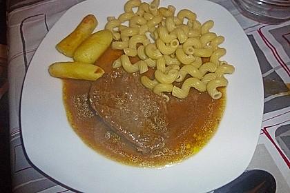 Münchner Soßfleisch (oder Saures Rindfleisch oder Böfflamott) 2