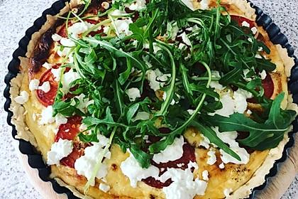 Tomaten - Tarte mit Ziegenkäse 8