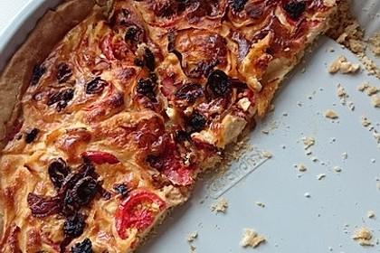 Tomaten - Tarte mit Ziegenkäse 24