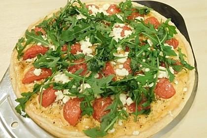 Tomaten - Tarte mit Ziegenkäse 25