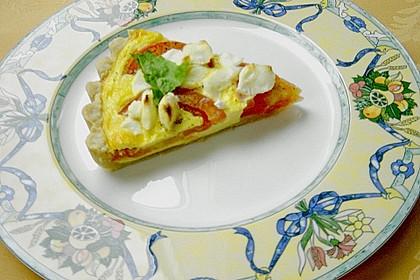 Tomaten - Tarte mit Ziegenkäse 31